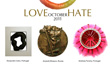 LOVE - HATE: international virtual medal exhibition MEDALLIWOOD 5