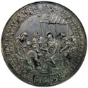 Sebastian Dadler. Medal devoted to the New Year 1635 and Christmas
